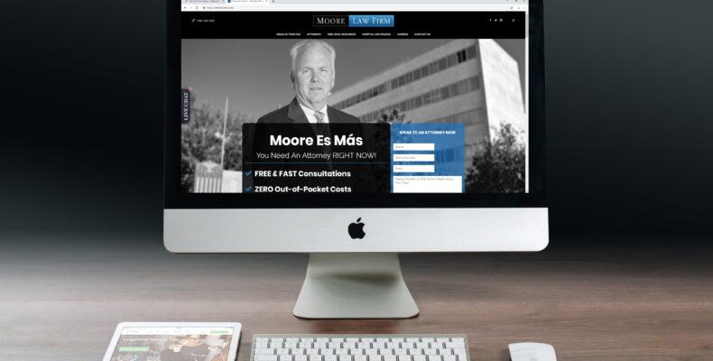 mcallen law firm web design